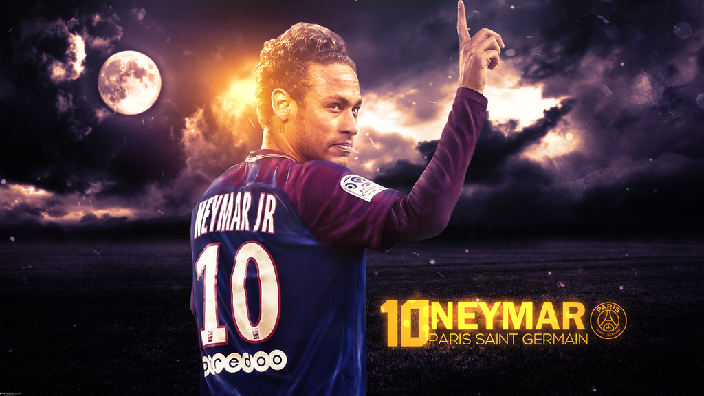 Neymar Jr Wallpaper By MohamedALAAGFX