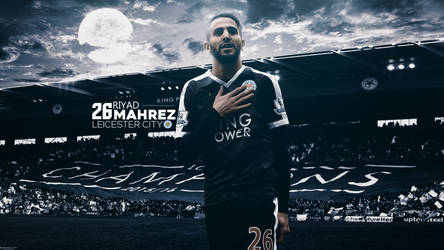 Riyad Mahrez 2017/18 Wallpaper