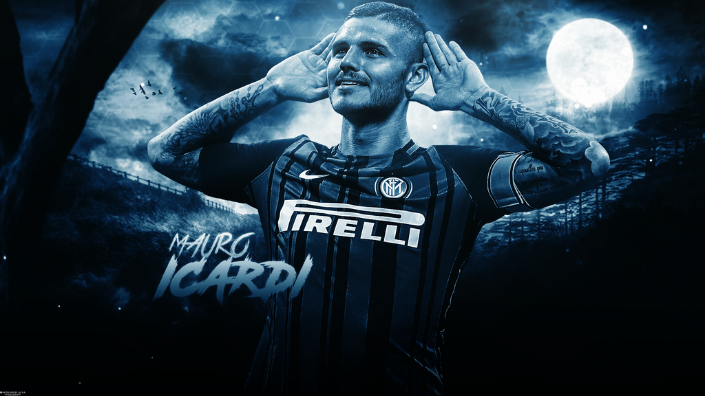 Mauro Icardi 2017/18 Wallpaper by MohamedALAAGFX