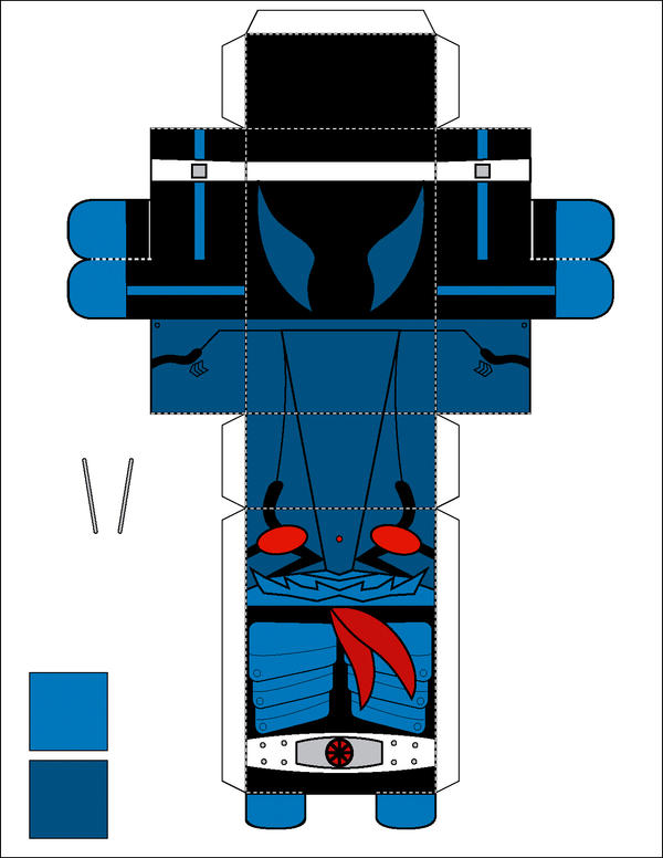 Papercraft - Ichigo by paldipaldi