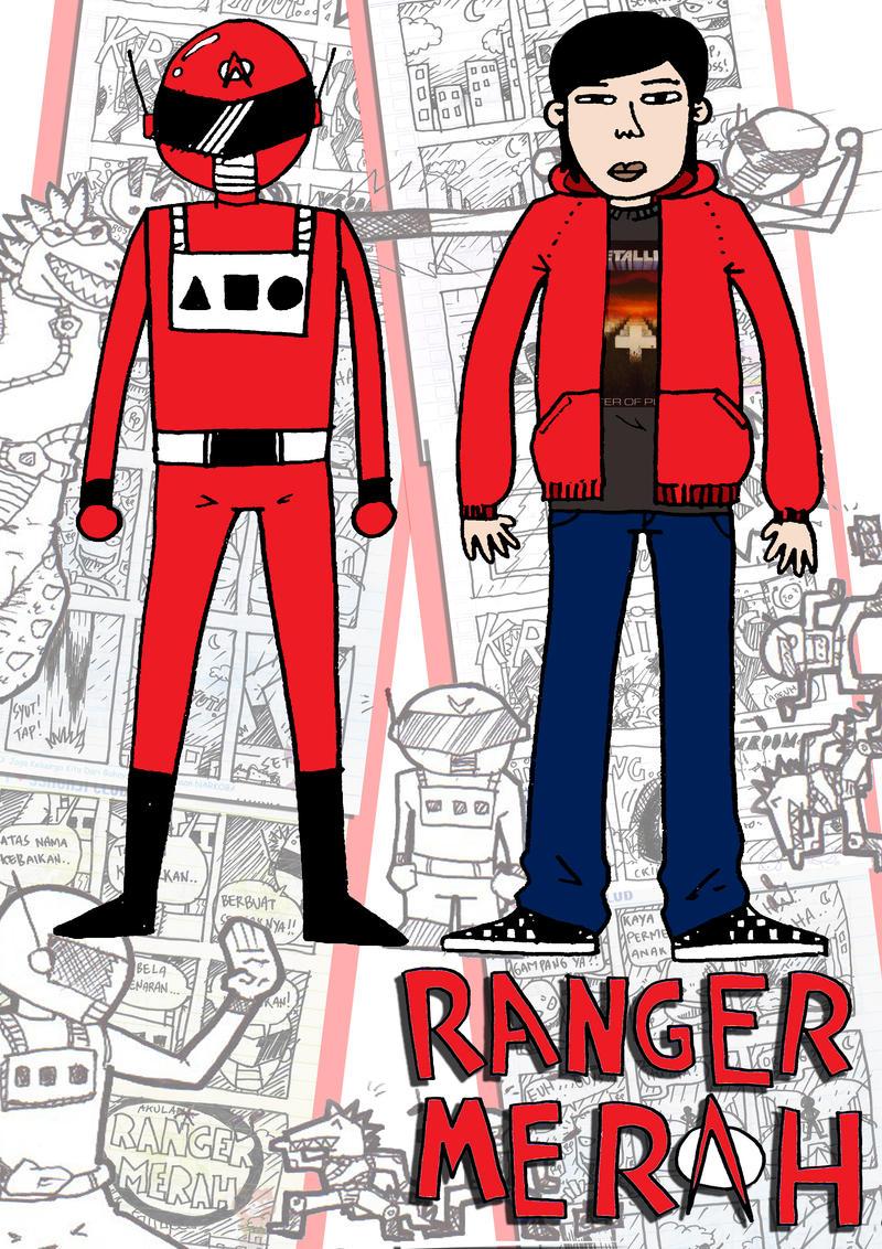 Ranger Merah Adalah Jaka by paldipaldi