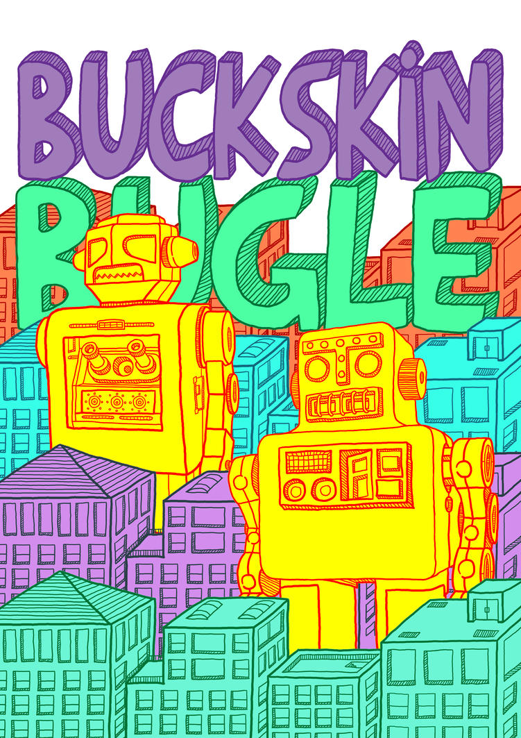 Buckskin Bugle - Robots by paldipaldi