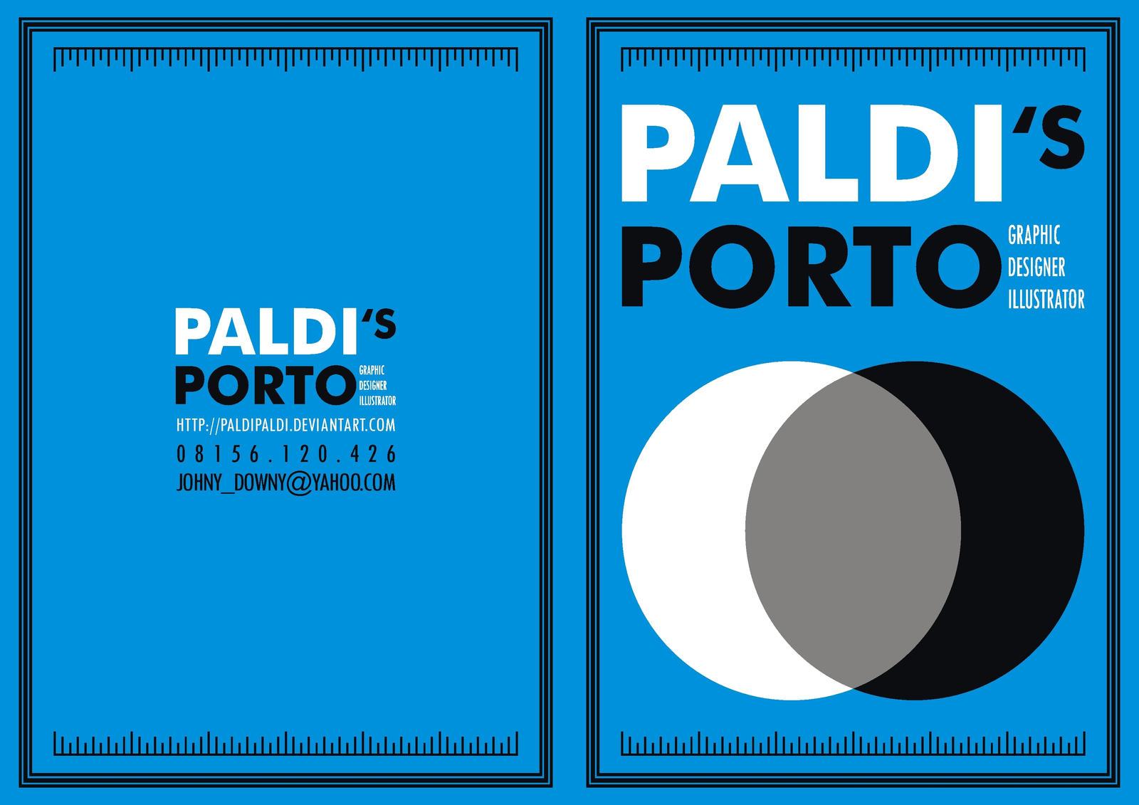 the cover of PALDI's porto by paldipaldi