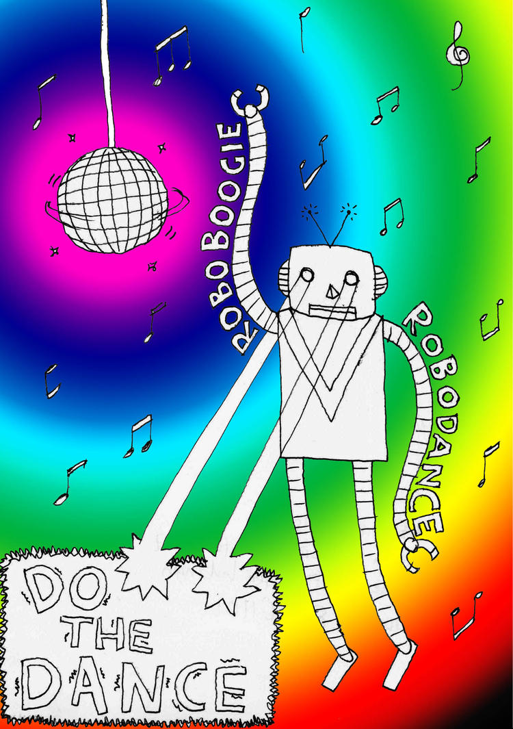how to do robot dance
