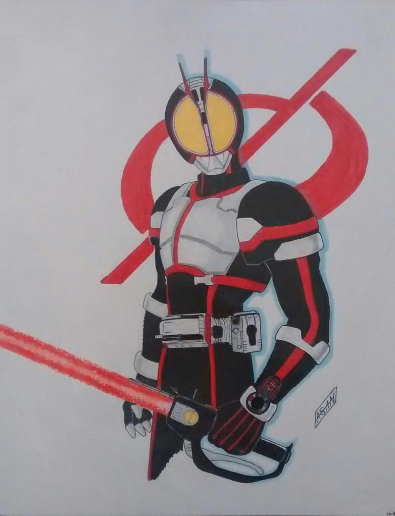 Kamen Rider Faiz by Redarm84