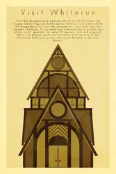 Skyrim travel poster: Whiterun