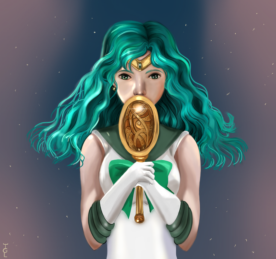 Sailor Neptune by thegeeklady