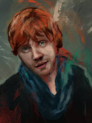 Rupert Grint by charlotvanh