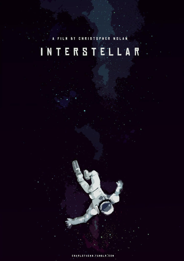 Falling Astronaut / Interstellar by charlotvanh on DeviantArt