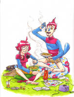 Gnocchis en famille by Peudleuduz