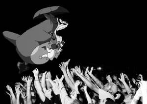Totoro Stage Dive