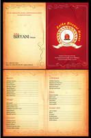 Zaika Biryani House menu card by syedmaaz