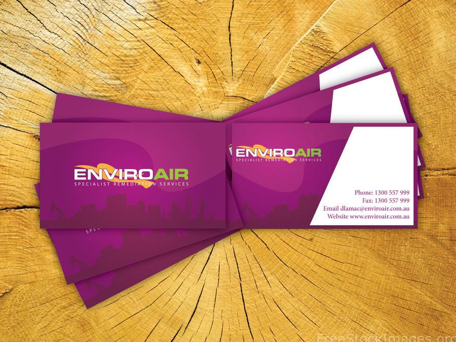 V Card Enviroair v card by syedmaaz