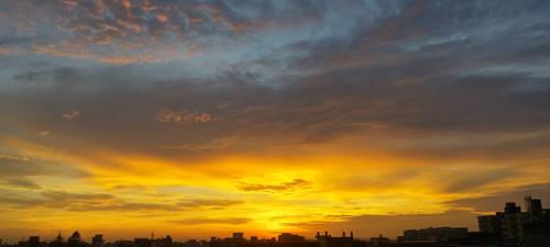 Sunset by syedmaaz