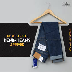 new stock denim jeans