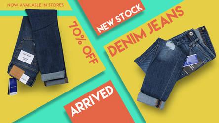 Denim Jeans Cover Design