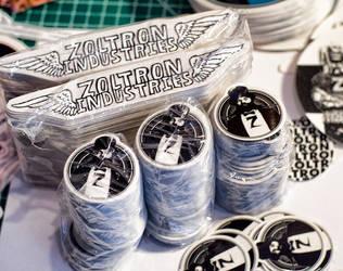 zoltron stickers by stickerobot