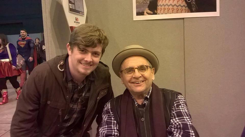Me and Sylvester McCoy by OddMod-7