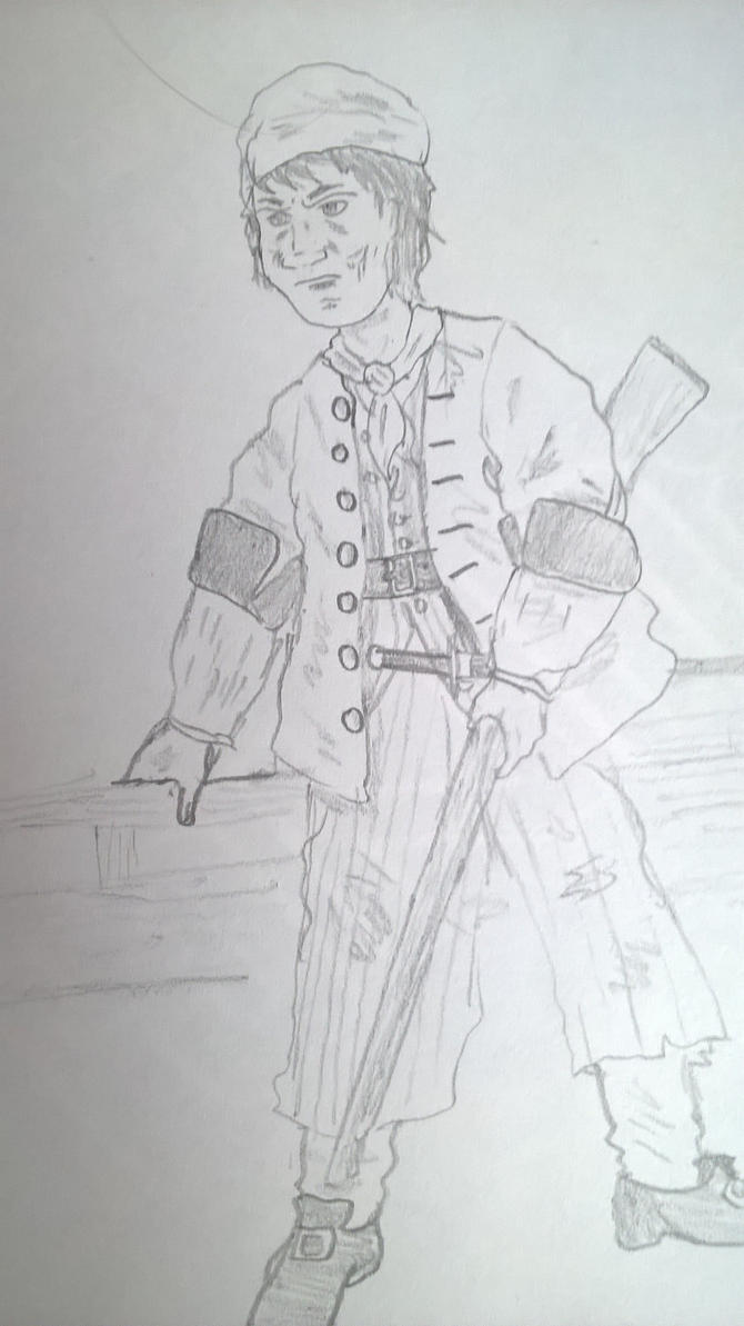 Sailor, Early 18th Century by OddMod-7