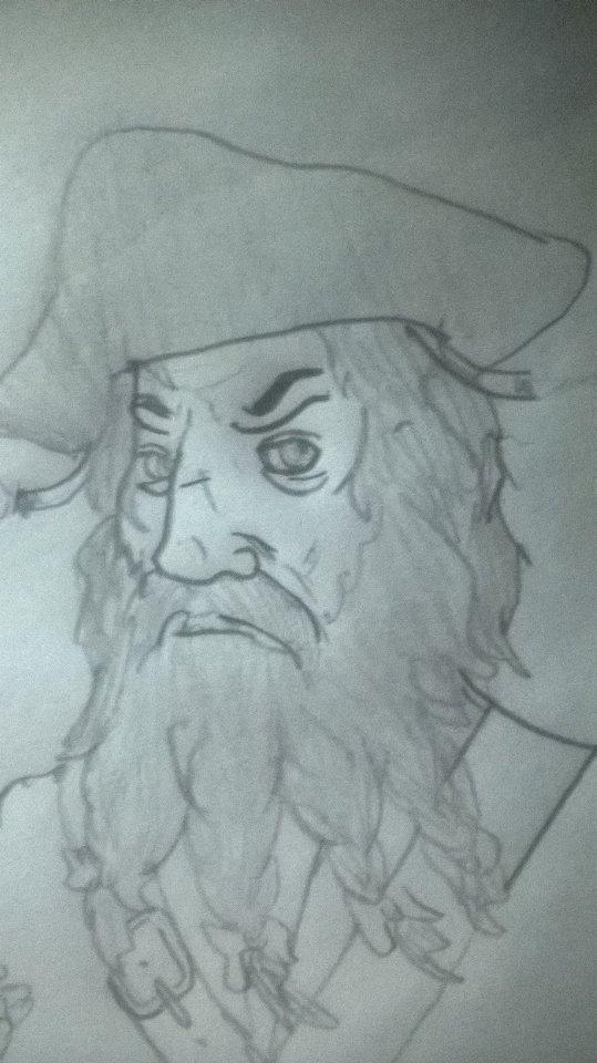 Blackbeard by OddMod-7