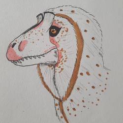 Cryolophosaurus by OddMod-7