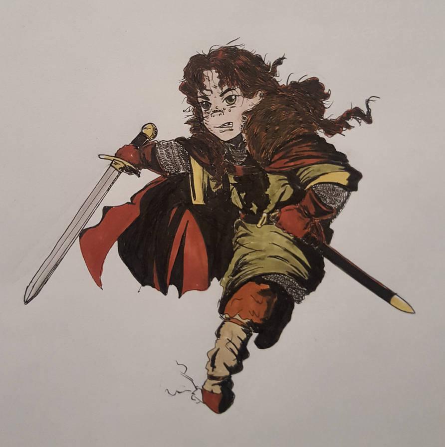 Lyanna Mormont by OddMod-7