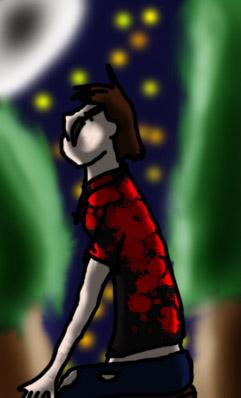 Galería de Dibujos .::Eowyn::. Eowyn_in_the_forest_by_murdocfan-d3f098m