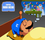 Super Mario Dream (the end of SMB2) by Hollow-Inc