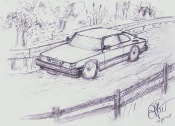 Saab cutting corners by RadiatingCalm