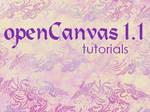 openCanvas 1.1 Tutorials Index