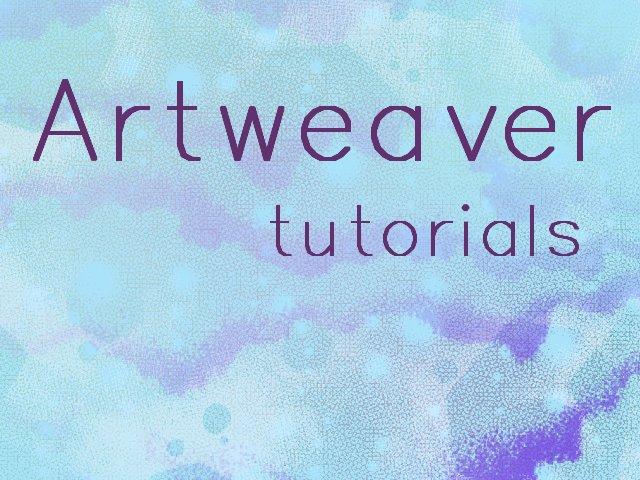 Artweaver Tutorials by ArtistsHospital