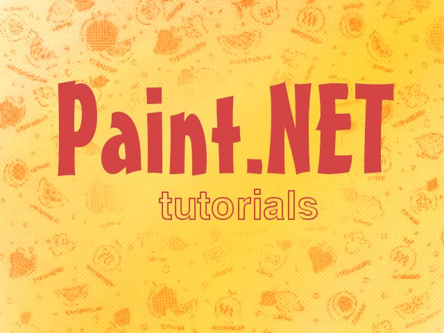 Paint.NET Tutorials by ArtistsHospital