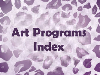 Art Programs Index by ArtistsHospital