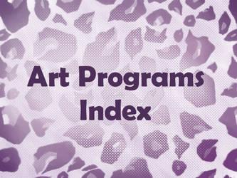 Art Programs Index by ArtistsHospital
