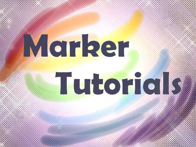 Marker Tutorials by ArtistsHospital on DeviantArt