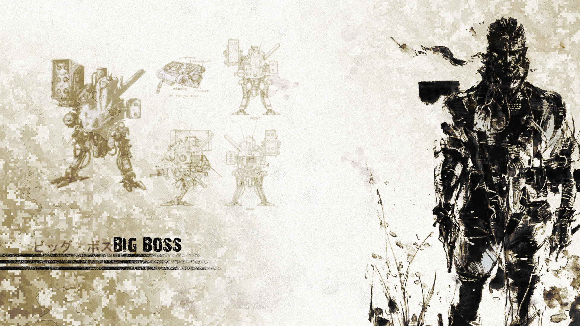 Big Boss Mgs Wallpaper 1920x1080 By Harmpie On Deviantart