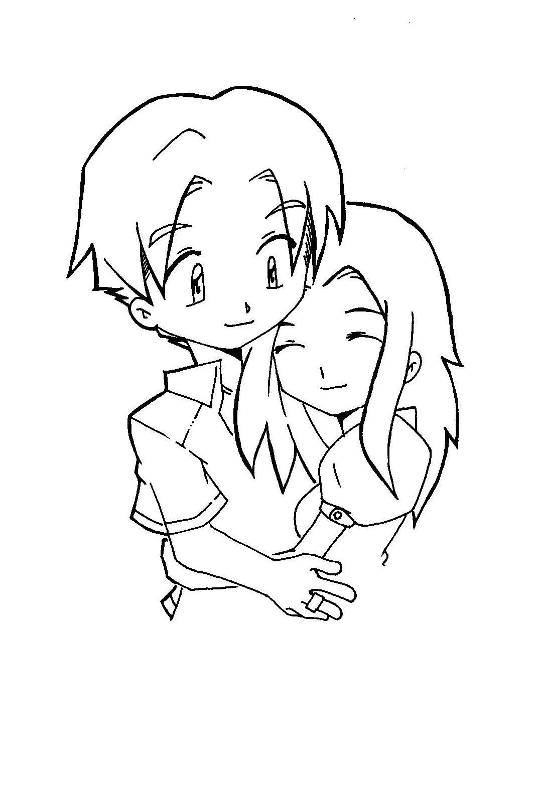 Chibi Couple by ed-sama on DeviantArt