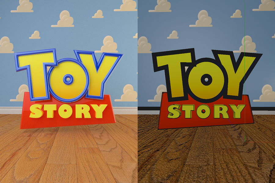 3d toy story logo by renepoma on deviantart