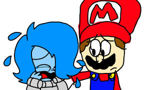 Collab   Sadness And Mario