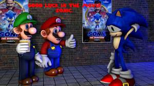 good luck Sonic
