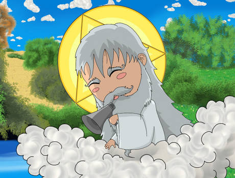 God the Father Chibi !