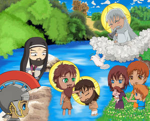 Baptism of Christ Chibi 4