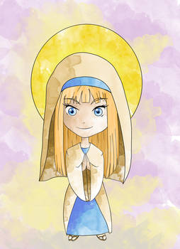 Presentation of Mary (chibi)