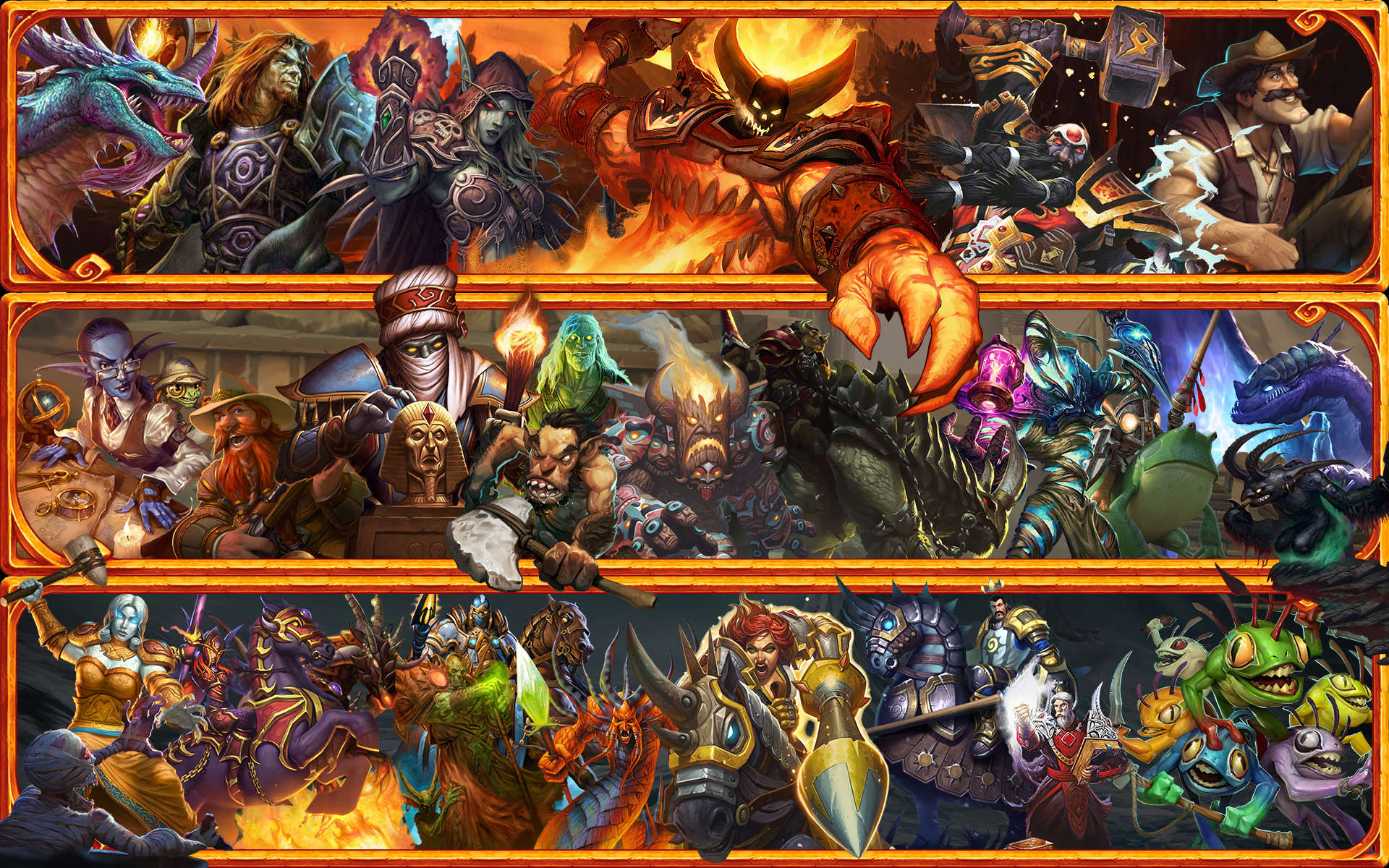 Hearthstone Wallpaper - End of standard mode