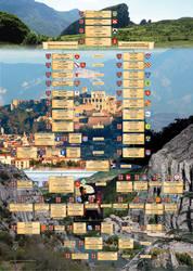 Tableau Genealogique de la famille de GOMBERT