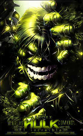 Hulk - The Incredible by AeroxxDSG