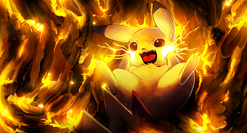 Smugde Pikachu by AeroxxDSG