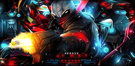 Alien Dual Tone by AeroxxDSG