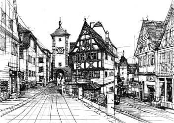 Medieval streets