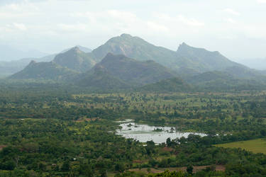 View from Sigiriya by AliusS